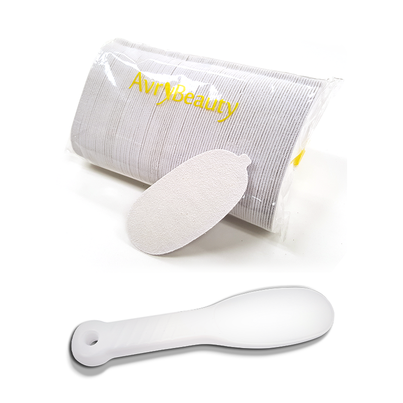 Pedicure Foot File & Refill Pad Package By AvryBeauty