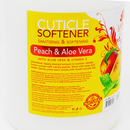 LaPalm Natural Cuticle Softener, Peach Aloe | Softens & Moisturizes Cuticle - Gallon (3.79L)