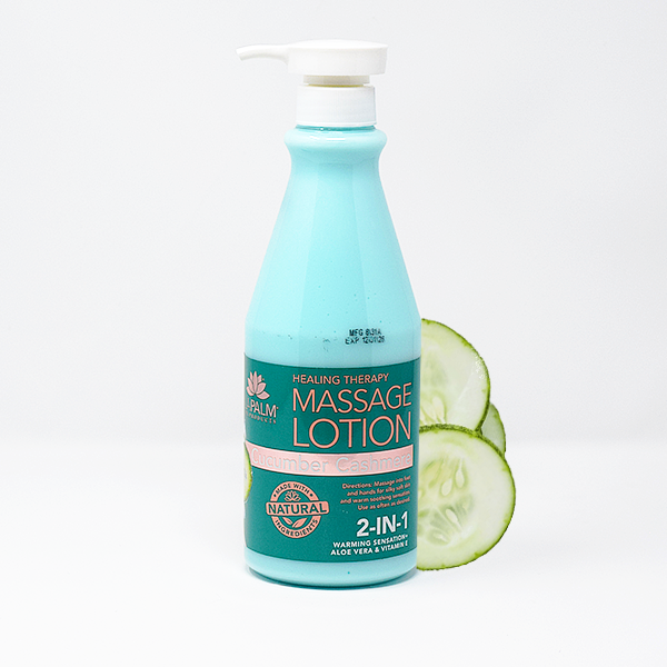 LaPalm Healing Therapy Massage Lotion | Cucumber Cashmere 24oz
