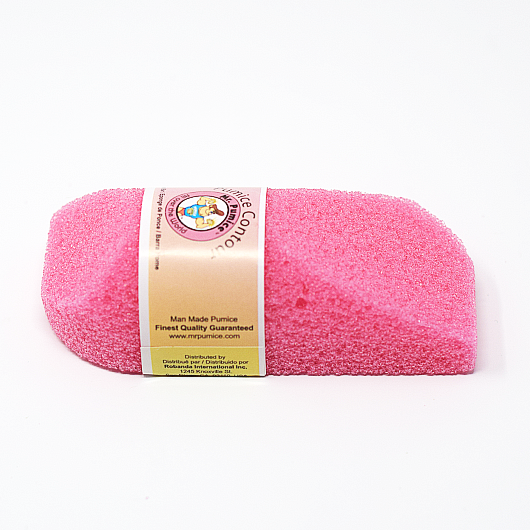 Mr.Pumice Pumice Contour Bar for Feet, Hands, Elbows (Medium)