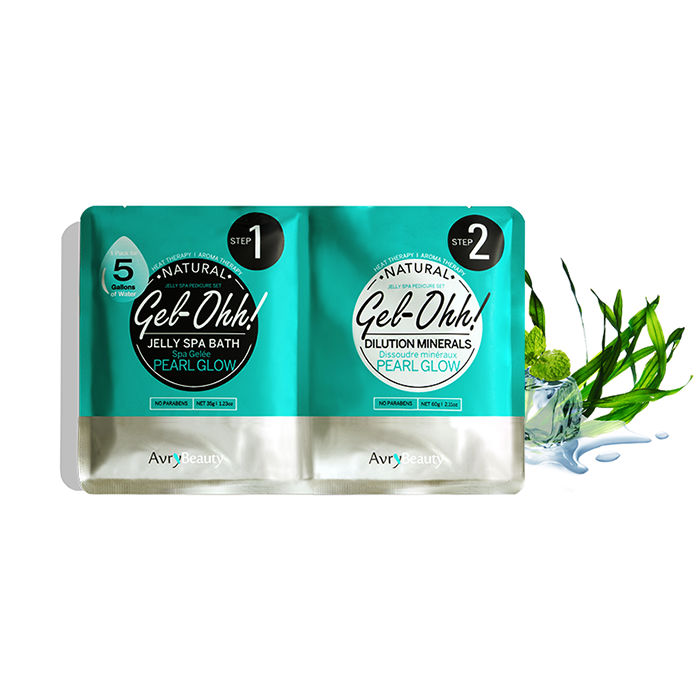 Jelly Pedi Spa Packets By AvryBeauty | GEl-OHH! - PEARL GLOW