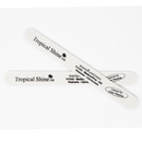 Tropical Shine Reusable Nail File 180/240 Grit (Medium/Fine) White Lightning
