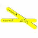 Tropical Shine Reusable Nail File 320 Grit (Fine) Yellow Flash