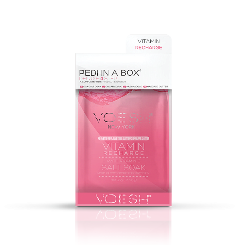 Voesh Pedi In a Box Deluxe (4 Step)