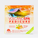 Volcano Spa Pedicure Kit - Orange No. 5 Pedicure Spa In a Box (5 step) by LaPalm
