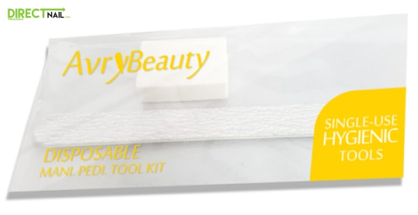 Avry Beauty Zebra File And Buffer Set (Mini) (1500 Sets) Disposables