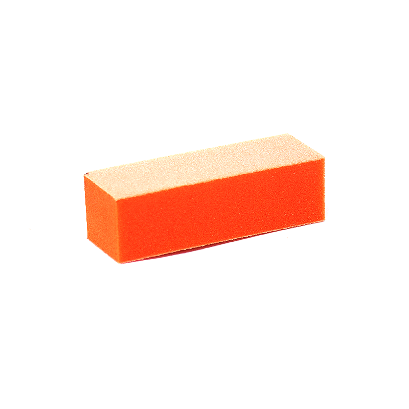 80/100 Grit 3-Way Nail Buffer Orange/White Pack of 100 by Dixon