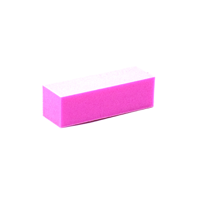 100/180 Grit 3-Way Nail Buffer Pink/White by Dixon