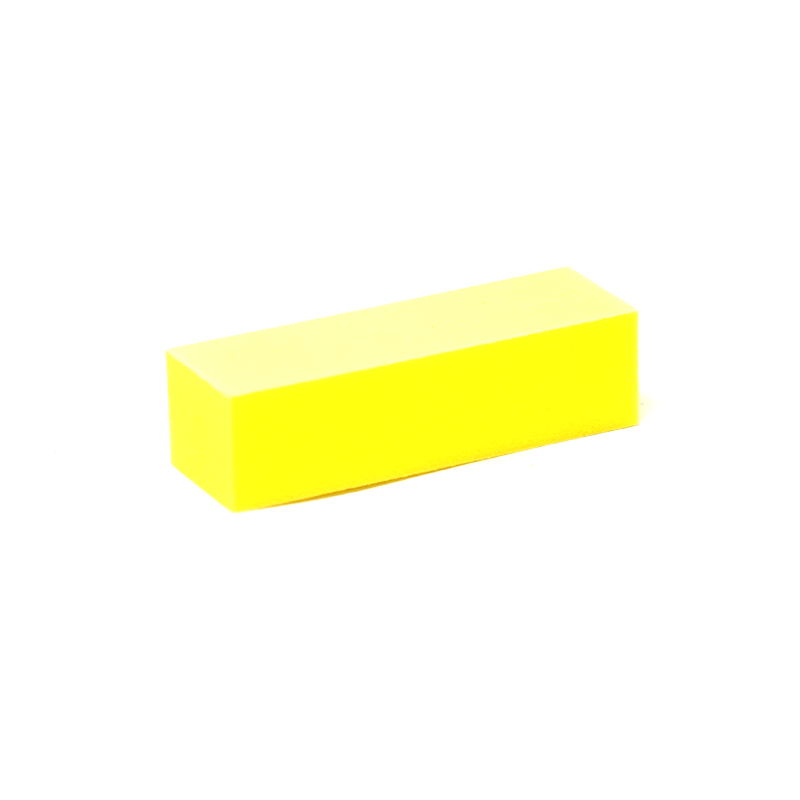 220/220 Grit 3-Way Nail Buffer Yellow/White by Dixon