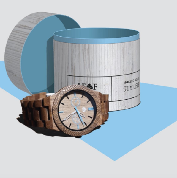Eco-friendly wood watch for me