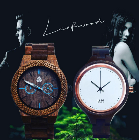 Canada Wood Watch Company Plant a tree for every watch sale