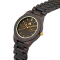 Leafwoods Juglan Nut Gold, Mens Wood Watch