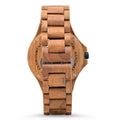 LEAFWOOD Lignum Green Mens Wood Watch