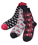 Men's Christmas Sock Set