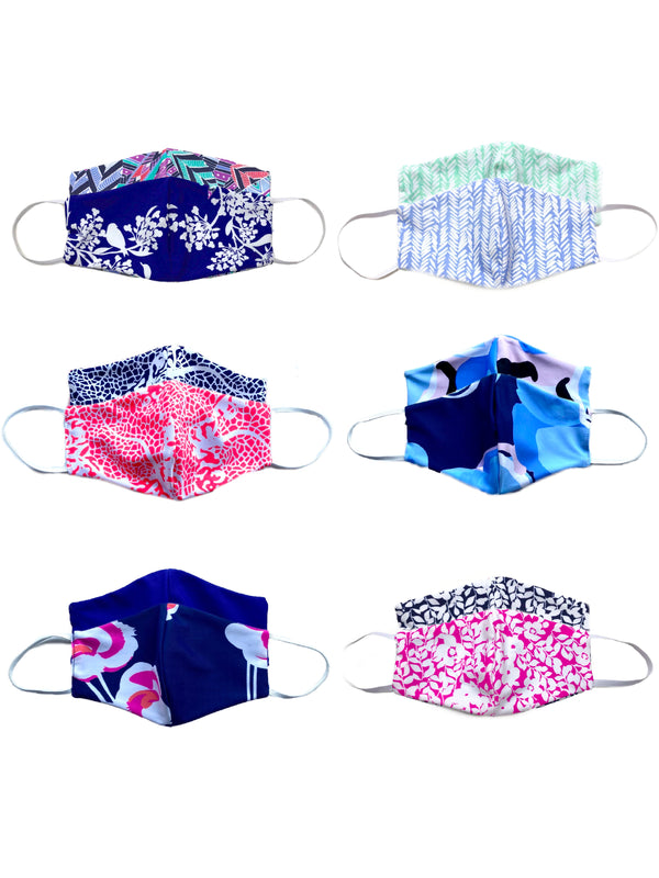 Reversible Nylon Cooling Face Mask