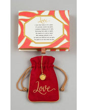 """Love"" Love Code Necklace"