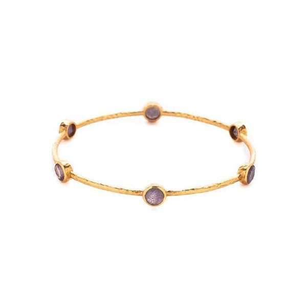 Milano 6-Stone Bangle