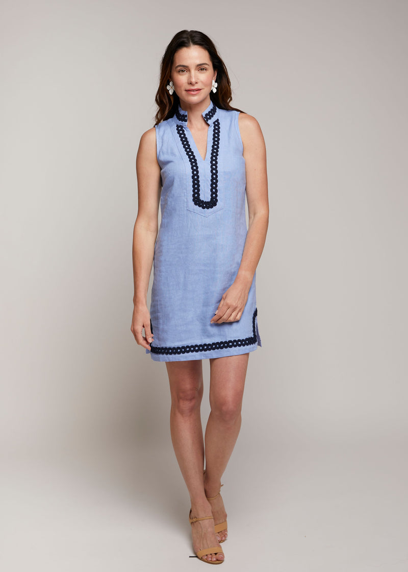 Sleeveless Tunic Dress