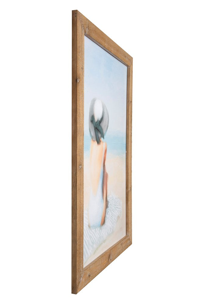 Wood Framed Wall Decor