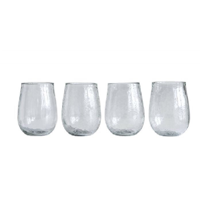 Recycled Stemless Wine Glass