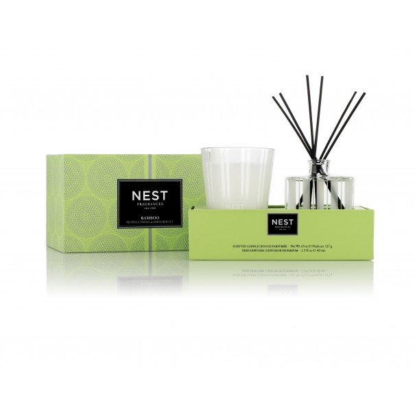 Bamboo Petite Candle & Diffuser