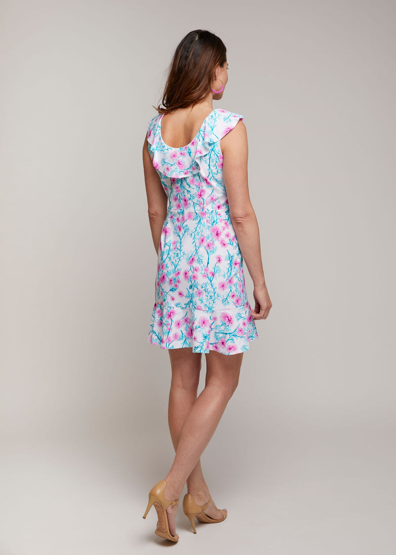 Naples Faux Wrap Dress