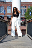 Tie High Waist Trousers