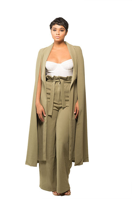 The Long Line Cape Coat