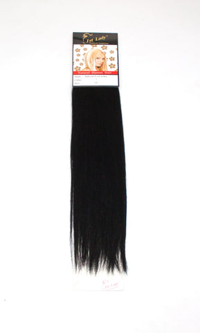 "1st Lady Natural Euro Silky Straight Blended Human Hair Weft 18"" - Elysee Star"