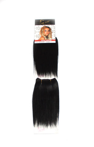 1st Lady Natural Euro Silky Straight Weft 8""