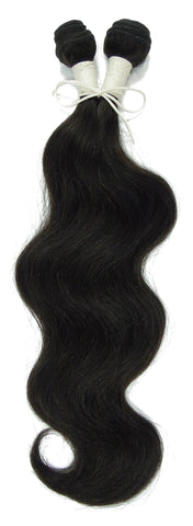 Peruvian Unprocessed Human Hair Weft Body Wave 16""