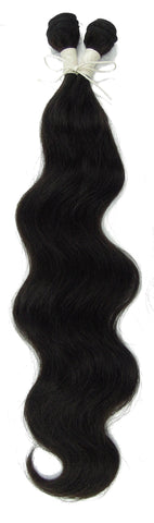 "Peruvian Unprocessed Human Hair Weft Body Wave 20"" - Elysee Star"