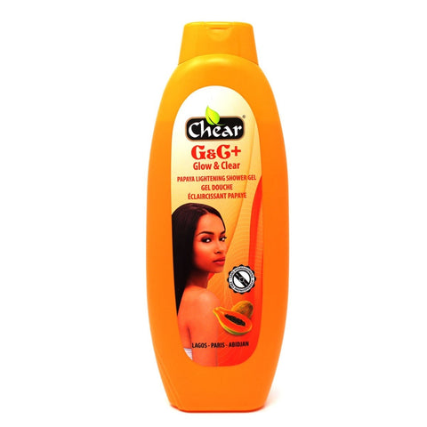Chear G&C+ Glow & Clear Papaya Lightening Shower Gel - Elysee Star