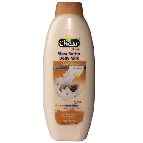Chear Shea Butter & Vitamin E Moisturising Hand & Body Milk