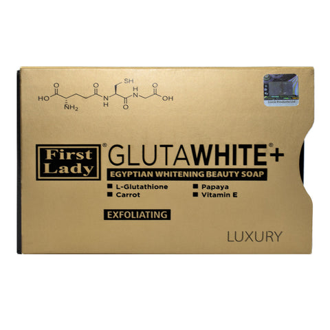First Lady Glutawhite+ Egyptian Whitening Exfoliating Skin Lightening Beauty Soap
