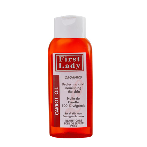 First Lady Carrot oil for Protecting and nourishing the skin - Elysee Star