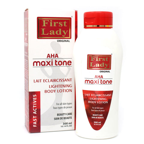 First Lady Fast Active AHA Maxi Tone Lightening Body Lotion - Elysee Star