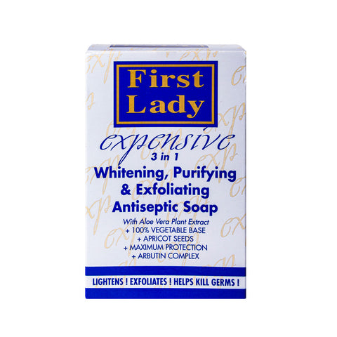 First Lady Expensive 3in1 Antiseptic, Lightening & Purifying Exfoliating Soap - Elysee Star