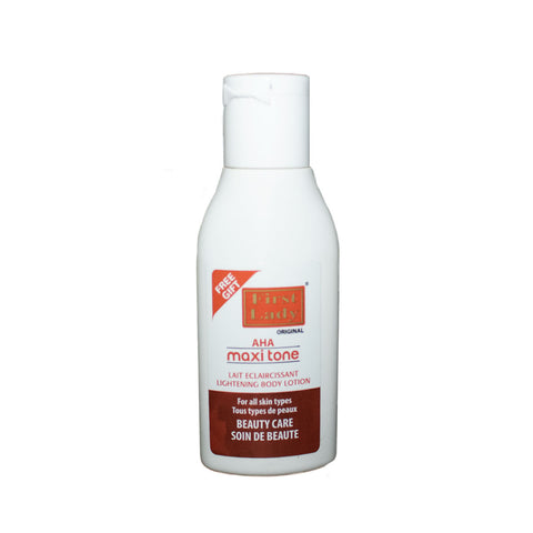 FREE SAMPLE - First Lady Fast Active AHA Maxi Tone Lightening Body Lotion 30ml - Elysee Star