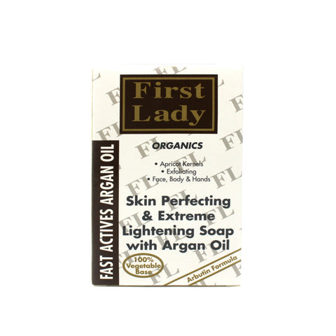 First Lady Fast Active Argan Oil Lightening Soap - Elysee Star