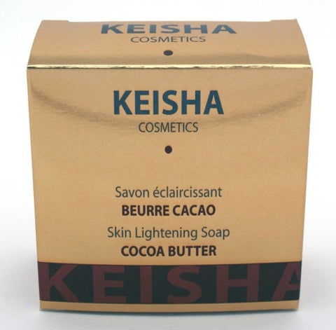 Keisha Skin Lightening Cocoa Butter Soap - Elysee Star