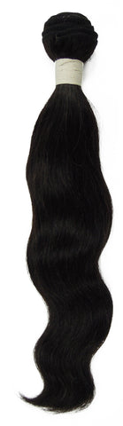 Peruvian Unprocessed Human Hair Weft Natural Wave 14""