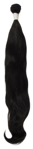 Peruvian Unprocessed Human Hair Weft Natural Wave 22""