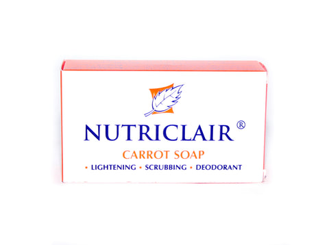Nutriclair Carrot Lightening & Scrubbing Soap - Elysee Star