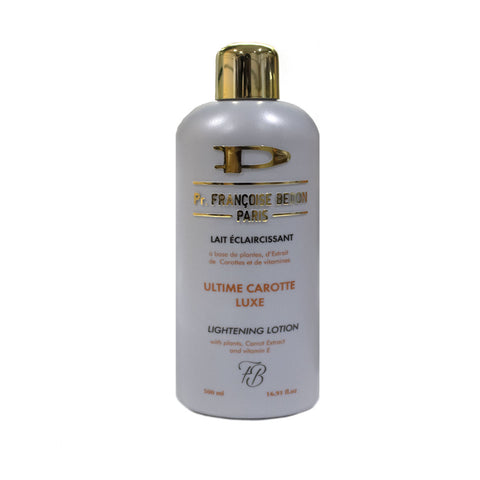 Pr. Francoise Bedon Ultime Carrot Luxe Lightening Lotion - Elysee Star