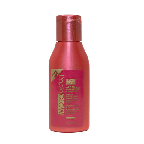 FREE SAMPLE - First Lady Rapid Glow Argan with Pomegranate & Aloe Vera Strong Lightening Beauty Lotion Milk 30ml
