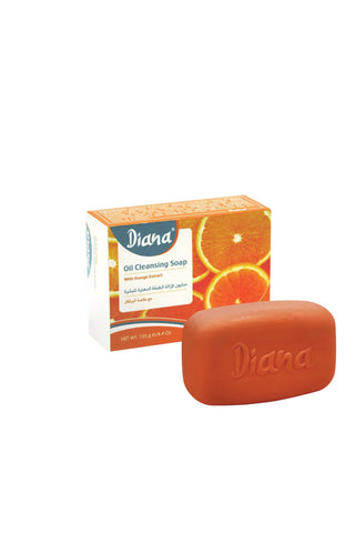 Diana Oil cleansing soap with orange extract