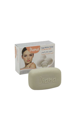 Diana Egg White Soap (to lift oily skin)