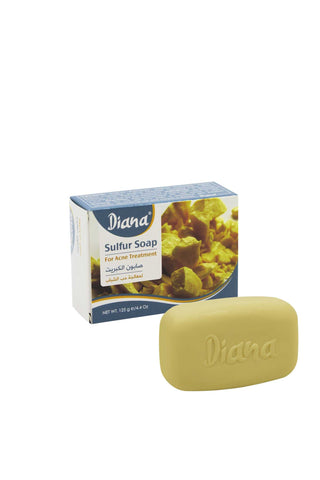 Diana Sulphur Soap For Acne Treatment - Elysee Star
