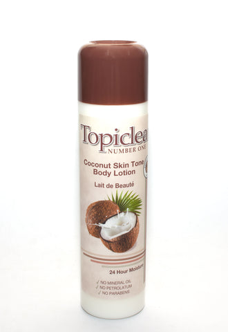 Topiclear Coconut Skin Tone Body Lotion - Elysee Star